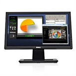 DELL E1910H - 19 inch - 1366x768 - 16:9 - VGA - Zwart