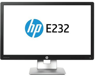 "HP EliteDisplay E232 - 23"" - 1920x1080 (Full HD) - DisplayPort - HDMI - VGA - Zwart/Zilver"