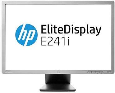 C-KEUZE - HP E241i - 24 inch - 1920x1200 - 16:10 - DP - DVI-D - VGA - Zilver