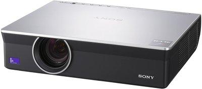 Sony VPL-CX100 - 1366x768 - 16:9 - S-Video - VGA - Composite - Zilver/Zwart