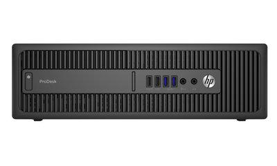 HP ProDesk 600 G2 SFF - Core i3-6100 - 4GB - 240GB SSD - 500GB HDD - DvDRW - Windows 10 Home
